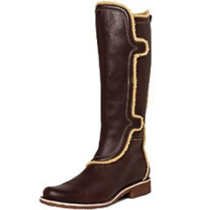 Instyle.com - Leather Faux Trim Boot