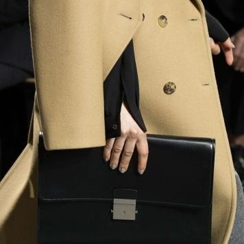 Women's handbag/ clutch accessories F/W Designer Michael Kors, pic: Getty Images