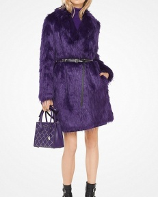 Michael Kors Collection , Faux Fur Coat, 2K17 F/W
