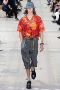Louis Vuitton 2018 Men's Collection Hawaiian Print Shirt - Indigital t.v.