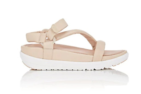 Fit Flop padded Leather Ankle Strap - courtesey of Barney's