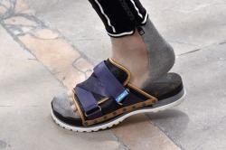 Men's Velcro Slip On Louis Vuitton FN Rex Shutterstock