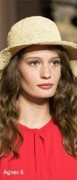 Agnes B SS 18 Straw hat