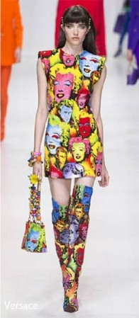 Mod fashion Revived - Trending old look new feel Versace Vogue RTW