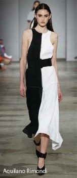 Aquilano Rimondi - SS18 Half and Half - Black and White trend - Glowsly.com