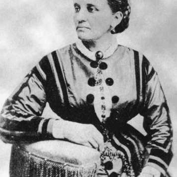 First Black American designer Elizabeth keckley - 1850