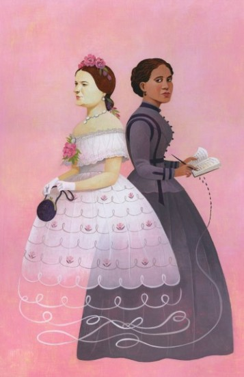 Pic of Mrs Lincoln and Elizabeth Keckley - Art work by Mary T Lizzy - smithsonian.com