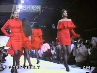 Patrick Kelly Fall 1990 rtw Paris - pic Canale Moda - Fashion channel