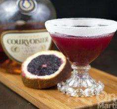Marianne - Blood Orange cognac Cocktail - onemartini.com