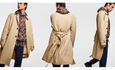 Zara Men's collection Trench 2018 www.zara.com