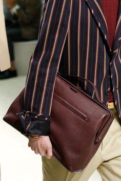 Vogue Salvatore Ferragamo Men's Handbag SS 18