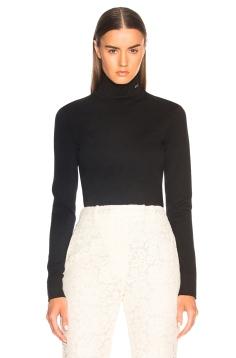 CNYFWS9 Calvin Klein Turtleneck Sweater Spring 18 pic modeoperandi.com