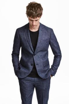 Spring 18 Men's Wool Blend Suit H&M www.hm.com