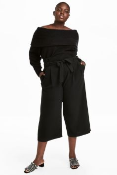 Wide Leg Pants Plus Size SS18 www.hm.com - ww.hm.com.uk
