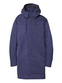 Isaora Expedition Parka - Blue Men's spring 2018 Banana Republic