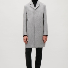 Long Wool Men's Car Coat cosstores.com S18