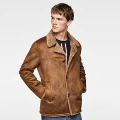 Zara Double Faux Fur Sided Short Coat spring 2018