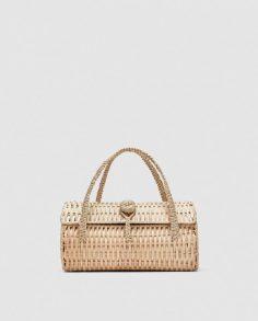 Zara Wicker Handbag...www.zara.com