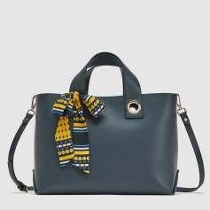 Zara Monochrome Tote bag Spring 18 www.zara.ca