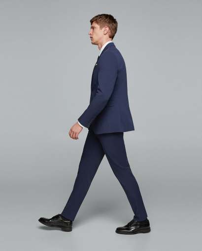 Bi-Stretch Traveller Men's suit SS18 www.zara.com
