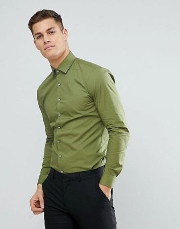 ASOS Calvin Klein Skinny Fit Shirt asos.com