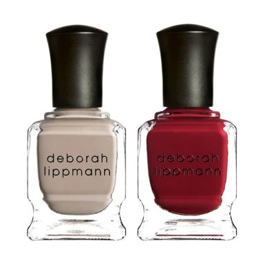 mani pedi combo Deborah Lippmann np in Fashion and My old flame red www.instyle.com
