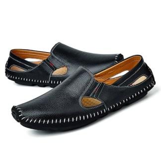Men Leather-Driving-Shoes-Plus-Size-Casual-Slip davisonoxford.com