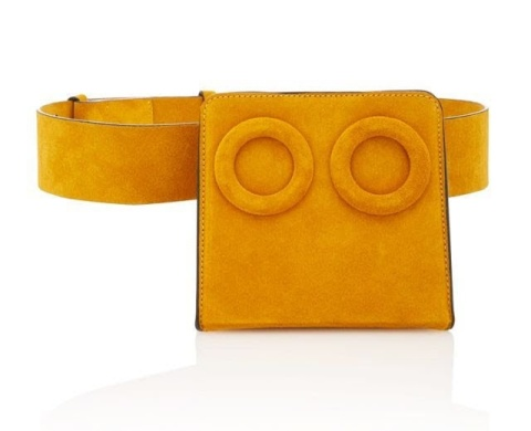 Boyy Deyon Suede Belt Bag: whowhatwear.com pic: modeoperandi.com shop