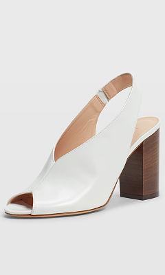 Lolia Block Heel Sandal SS18 Club Monaco clubmonaco.com