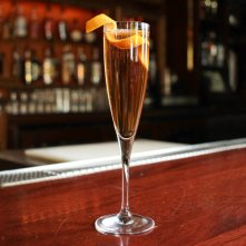 Forbidden Apple Champagne Cocktail: liquor.com