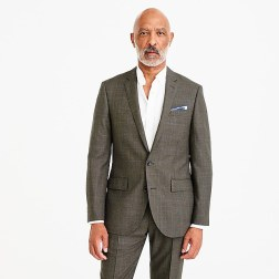Men's Ludlow Slim Fit Herringbone Suit Fall'18 www.jcrew.com