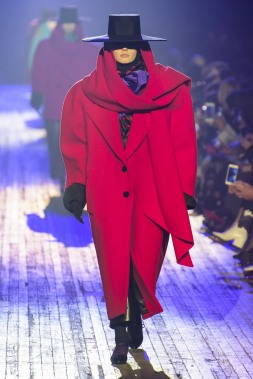 Marc Jacobs RTW Fall'18 Collection Women's Oversized Coat: Getty Images: HBZ