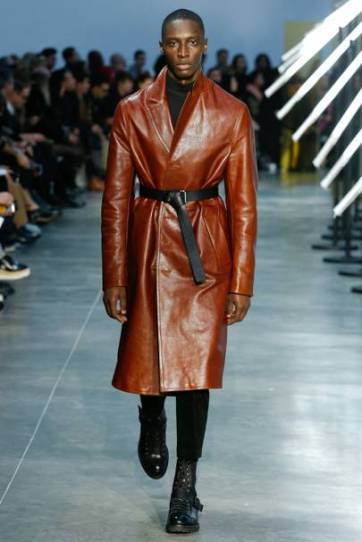 Men's AW 2018 Men's Long soft Leather Trench Coat - pic www.pinterest.com Designer: Cerruti 1881