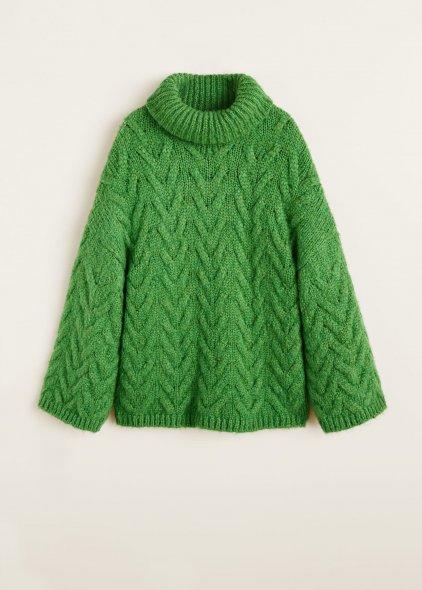 Mango Knit Sweater AW 2018 Women's Collection...www.mango.com: pic: www.refinery29.com