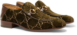 0caee7866b40b031f476aefbef3d8bbb_xlargegucci horsebit velvet collapsible shoes