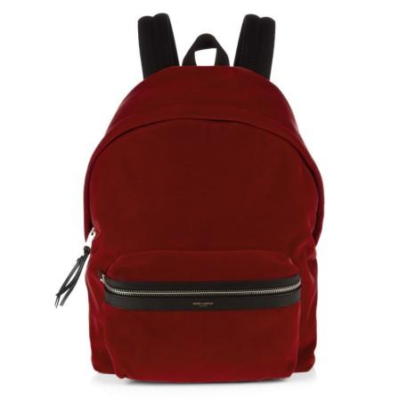 org_1 st laurent velvet back pack mens
