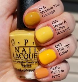 O.P.I , CHG, ESSIE Nail Color Trend SS19 www.pinterest.com